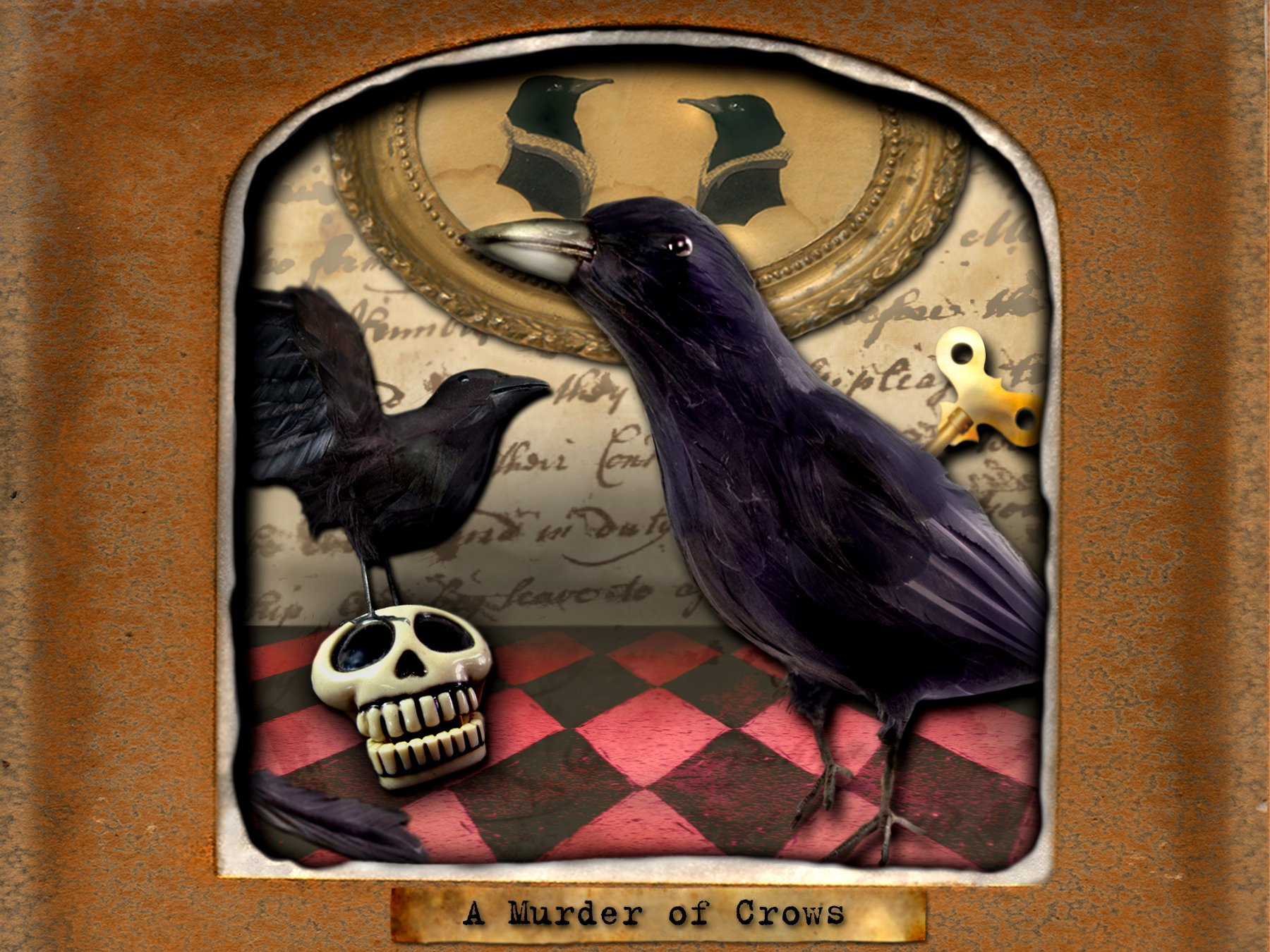 Deserted Toyshop: A Murder of Crows