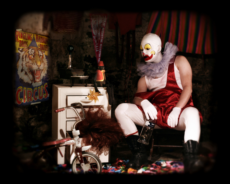 Contemplating Retirement (Clown)