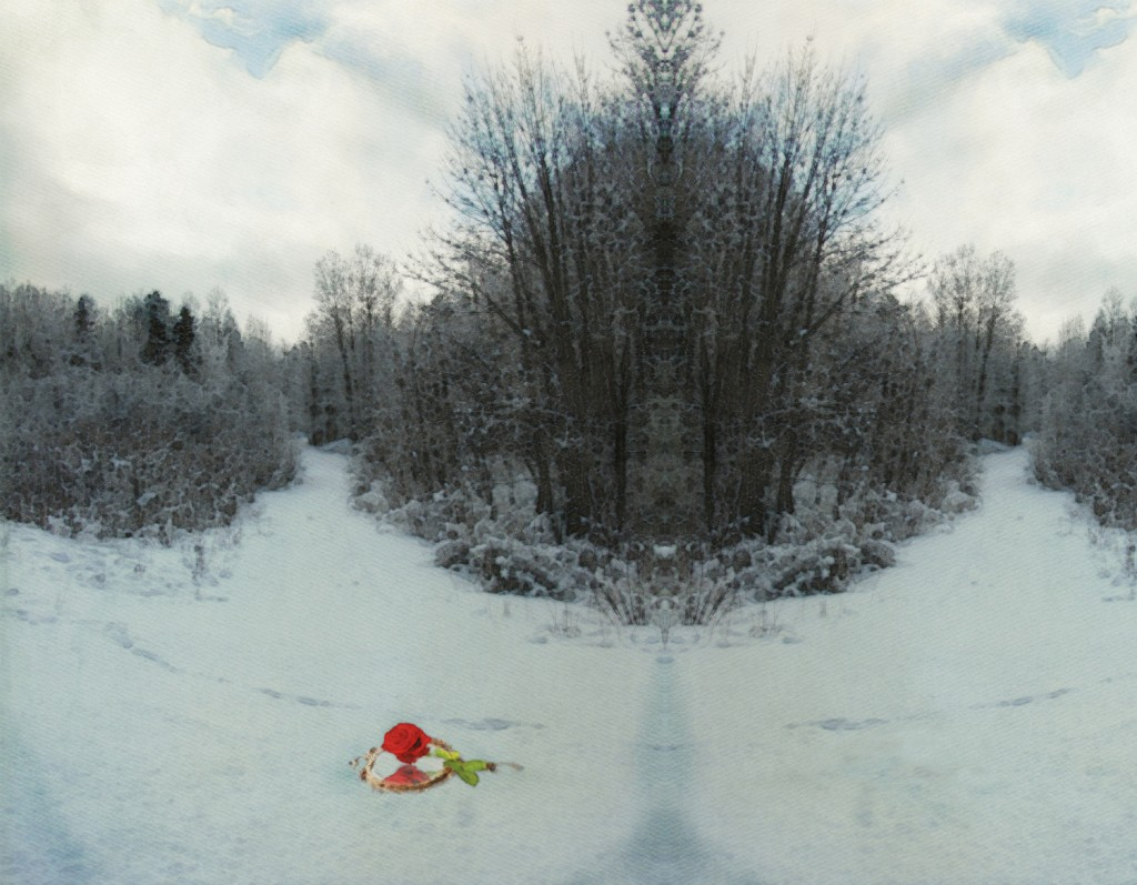 Snow Queen for I Asked the Blooms Whose Roots Embraced the Dead)